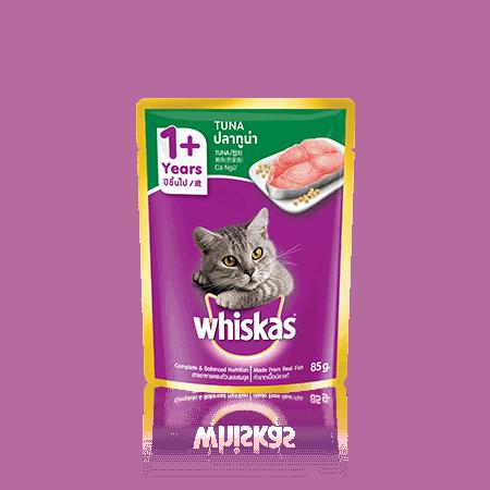 Whiskas Wet Adult Tuna 85gr