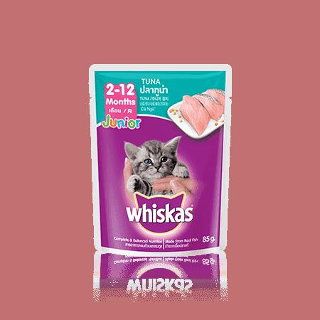 Whiskas Wet Junior Tuna 85gr